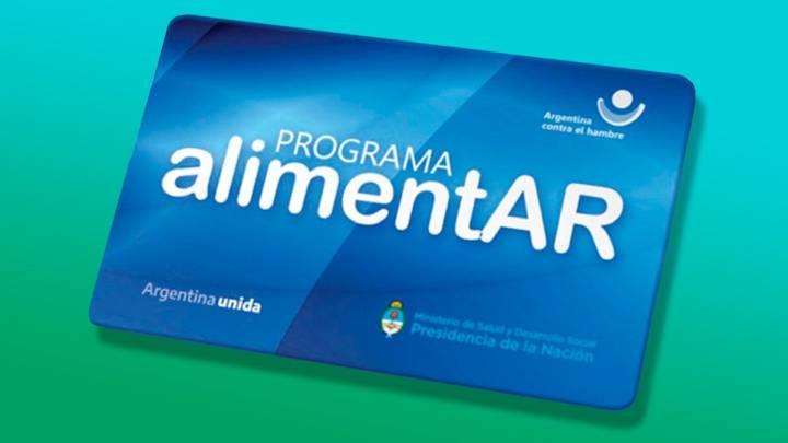 Resultado de imagen de TARJETA ALIMENTAR ARGENTINA