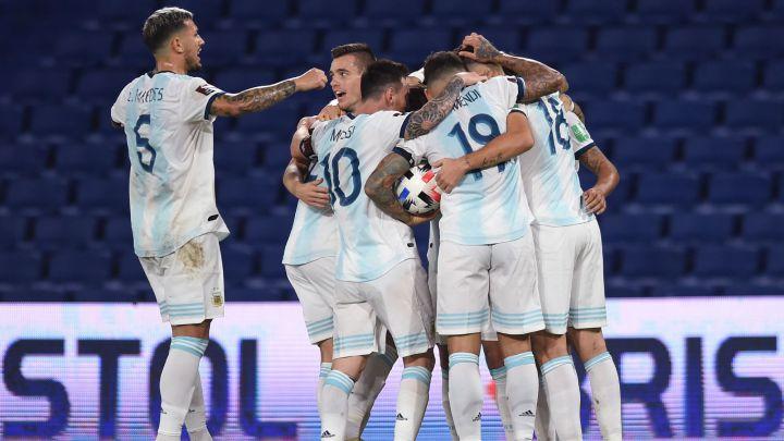Argentina y Paraguay dividen puntos en la Bombonera