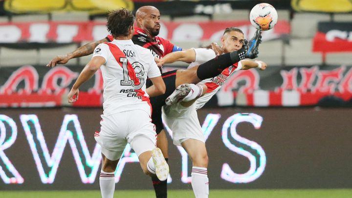 Paranaense 1-1 River Plate: goles, resumen y resultado - AS Argentina