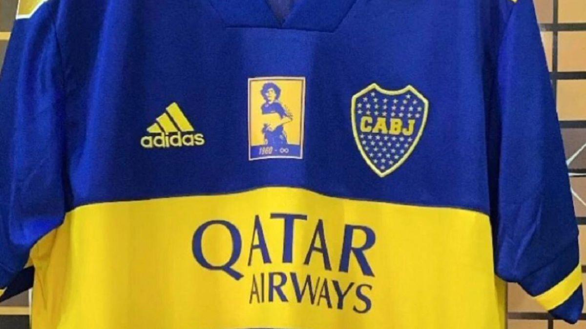 Esperar algo Ordenanza del gobierno Desnatar  La camiseta especial de Boca para homenajear a Maradona - AS Argentina