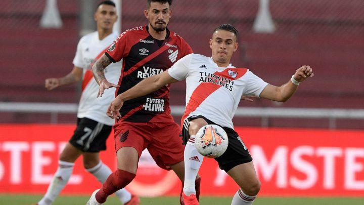 River Plate 1-0 Athletico Paranaense: goles, resumen y resultado - AS  Argentina