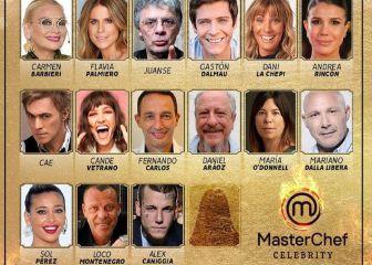 Masterchef Celebrity 2 Argentina Participantes Famosos Jurado E Invitados En 2021 As Argentina