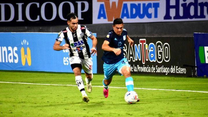 Central Córdoba 1-0 Racing: goles, resumen y resultado - AS Argentina