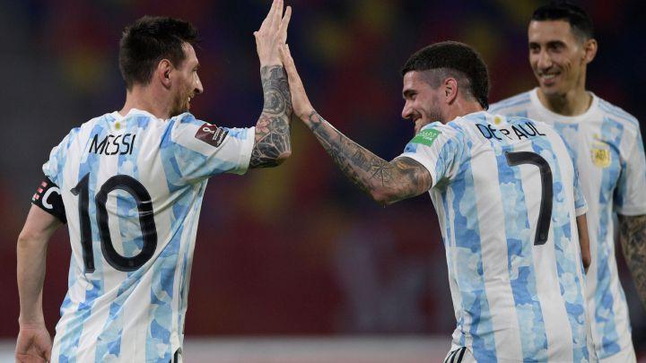 Argentina 1 1 Chile Goles Resumen Y Resultado As Argentina