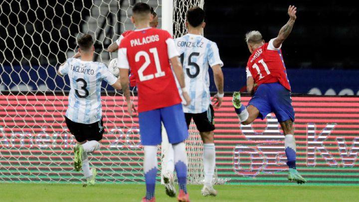 Argentina 1-1 Chile: goles, resumen y resultado - AS Argentina