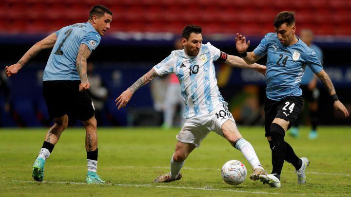 Argentina 1-0 Uruguay: goles, resumen y resultado - AS Argentina