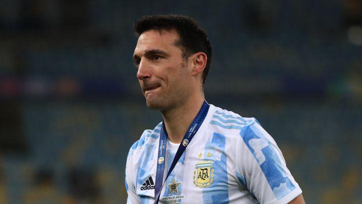 """Copa América Scaloni: """"Fuimos los mejores"""" - AS Argentina"""