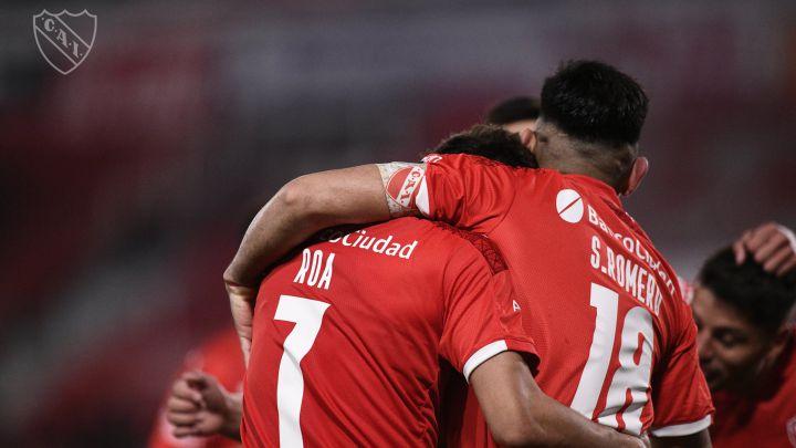Independiente gana, gusta y golea ante Colón y es líder del campeonato - AS  Argentina