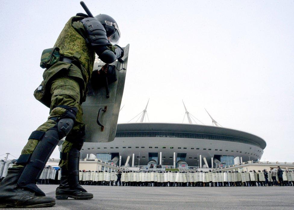 Rusia se pone a punto. La seguridad del Mundial de Rusia es una de las prioridades y ya realizan pruebas para garantizar que la cita se desarrolle sin problemas.