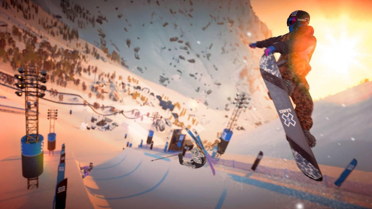 Steep X-Games: deportes extremos sobre la nieve