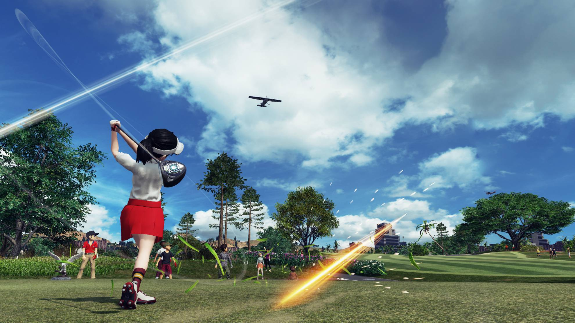 Everybody's Golf VR: la realidad virtual llega al golf