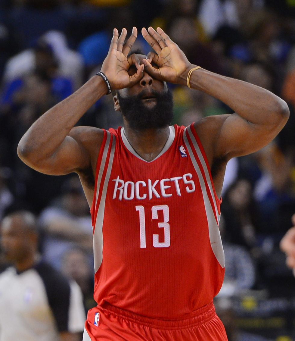 Harden y los Rockets vuelven a superar a los Warriors