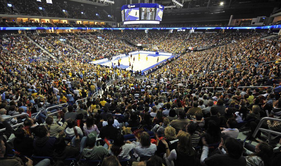 El madrid visita esta noche el mejor pabell n de la - Pabellon de deportes de madrid ...