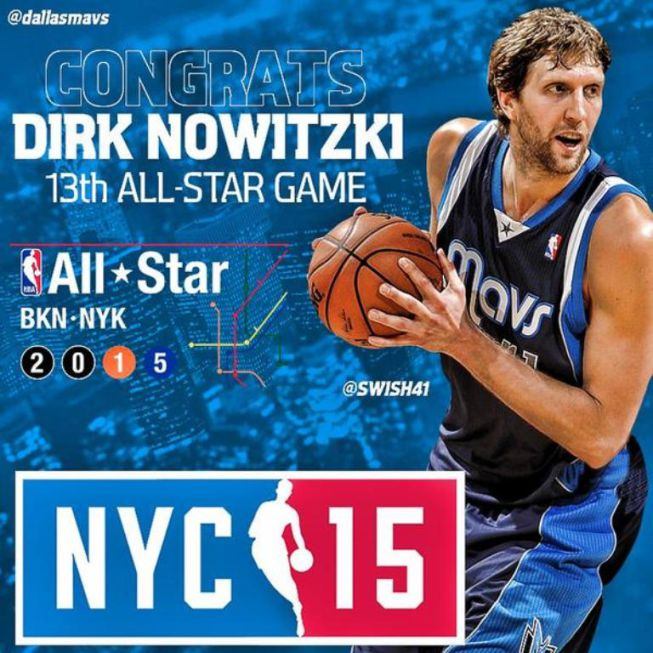 All Star: Nowitzki por Davis; Harden y Thompson, titulares