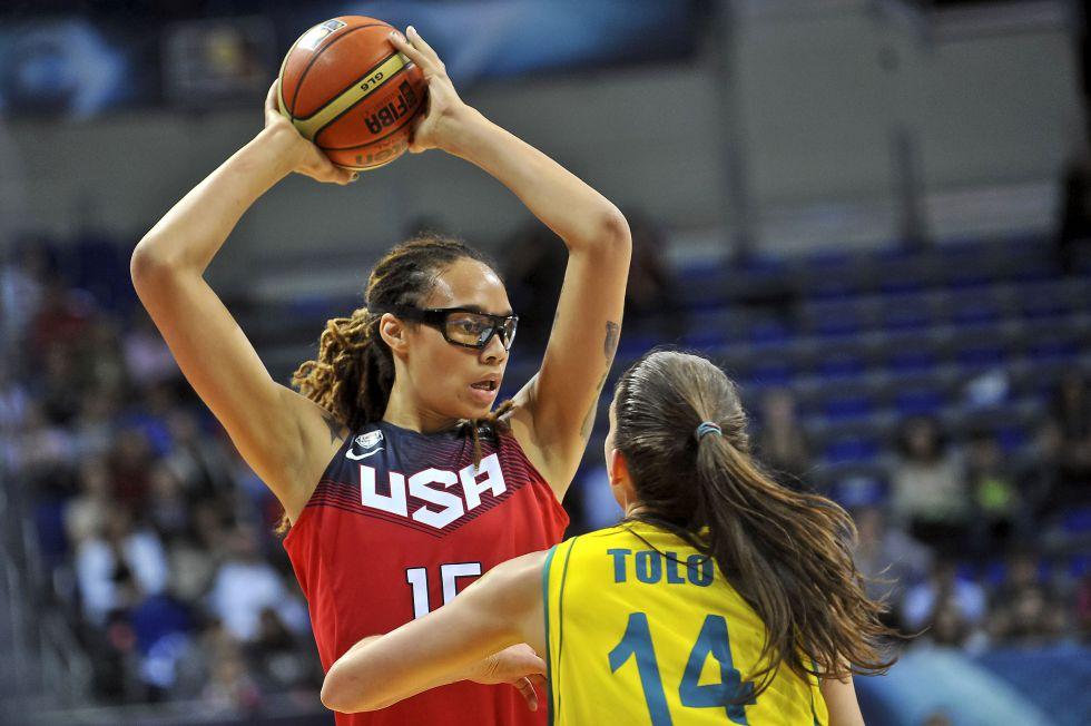 Baloncesto femenino  La selección femenina de Estados Unidos 3d13dd3aaf4ad