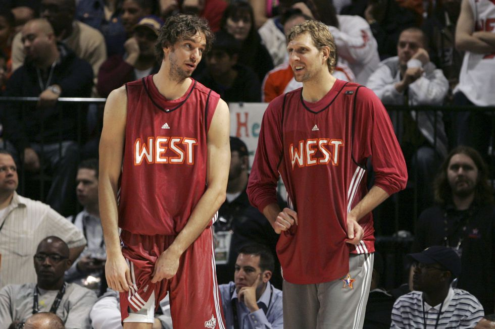 ¿Cuánto mide Dirk Nowitzki? - Real height 1449343943_798069_1449344131_noticia_grande
