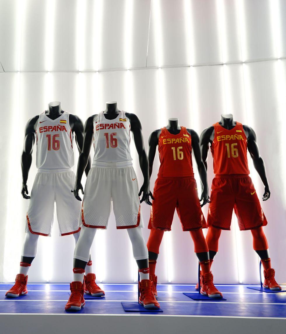 Así son las camisetas que lucirá España en los Juegos de Río 1dbe83726e908