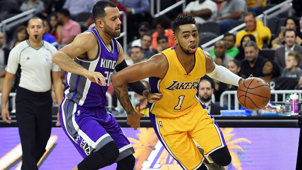 Russell-Ingram-Randle, el nuevo big three de los 'baby Lakers'