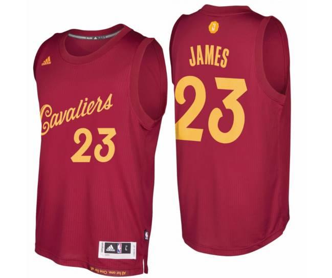 Camiseta de LeBron James para el día de Navidad.