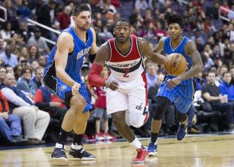 52 puntos de John Wall... pero los Magic no paran de ganar