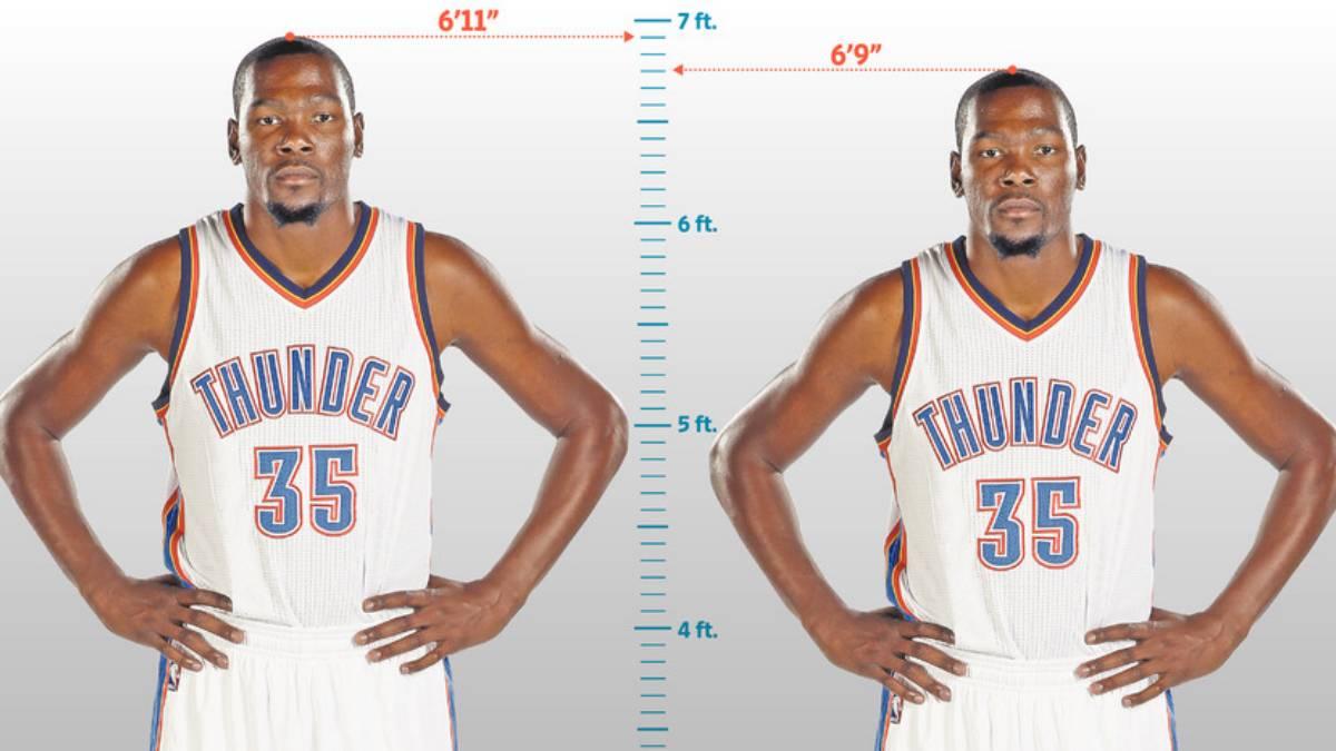 Kevin Durant Mentía Sobre Su Altura Cuánto Mide En Realidad Ascom