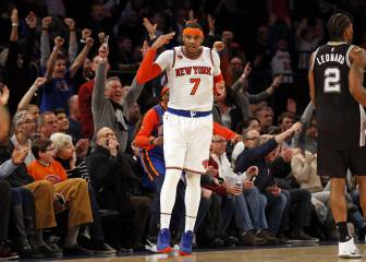 Carmelo Anthony jugará su 10º All Star Game; sustituye a Love