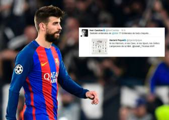 Casillas has a dig at Piqué over his NBA knowledge