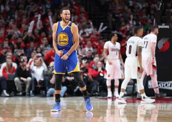 Warriors put Blazers on brink; Gasol sinks Spurs