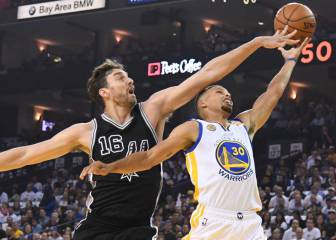 Calendario y horarios finales de conferencia Warriors-Spurs