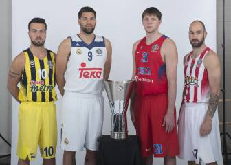 El Madrid llega de 'tapado' a la Final Four de Estambul