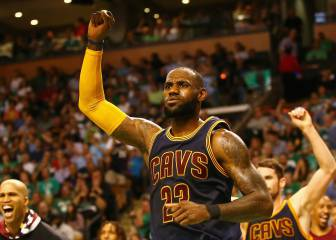 Non-MVP LeBron and his Cavaliers crush Celtics