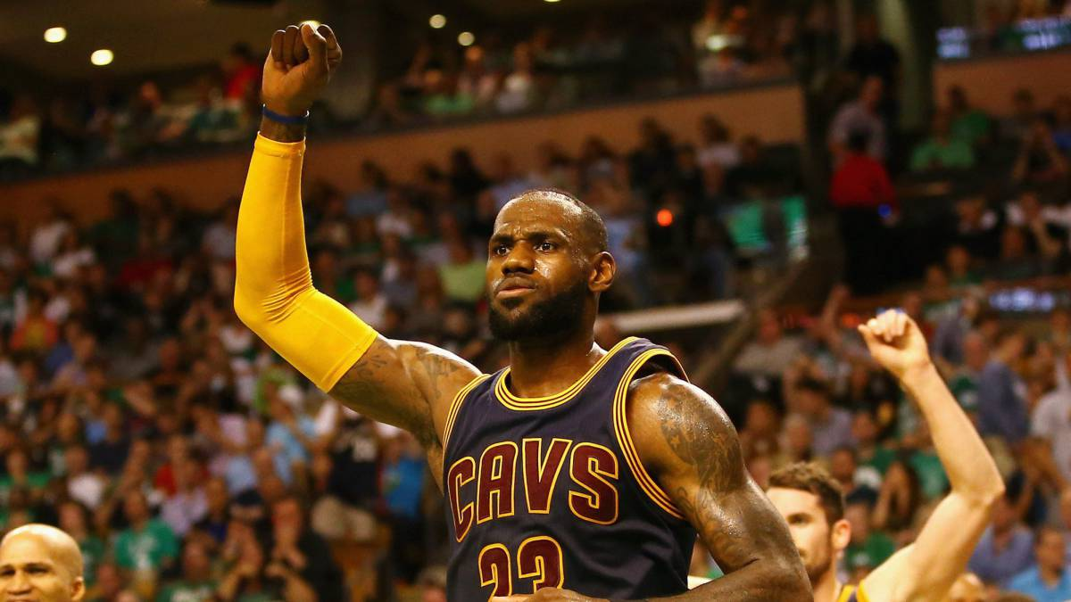 Non-MVP LeBron James and his Cavaliers crush Celtics in Boston