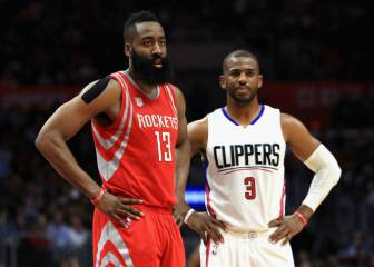 ¡Bomba! Chris Paul jugará en los Rockets con James Harden