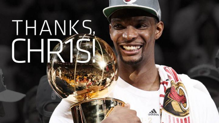 Chris Bosh dice adiós a Miami con una emotiva y sincera carta