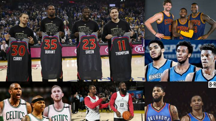 Ranking: los Warriors dominan la galaxia de los súper equipos NBA