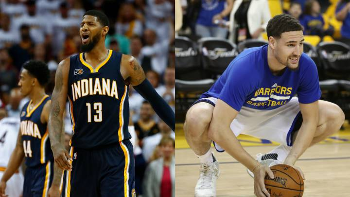 Los Warriors dijeron no a Paul George por Klay Thompson