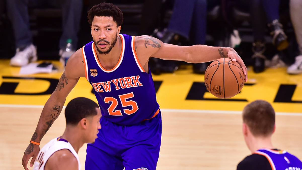 Derrick Rose, entre Cleveland Cavaliers y Los Angeles Lakers