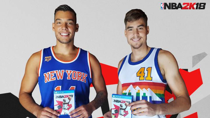 Willy y Juancho Hernangómez, embajadores de NBA 2K18