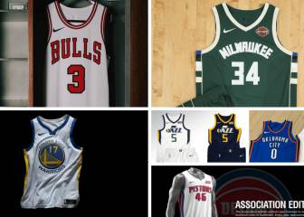 2017/18 season NBA uniforms
