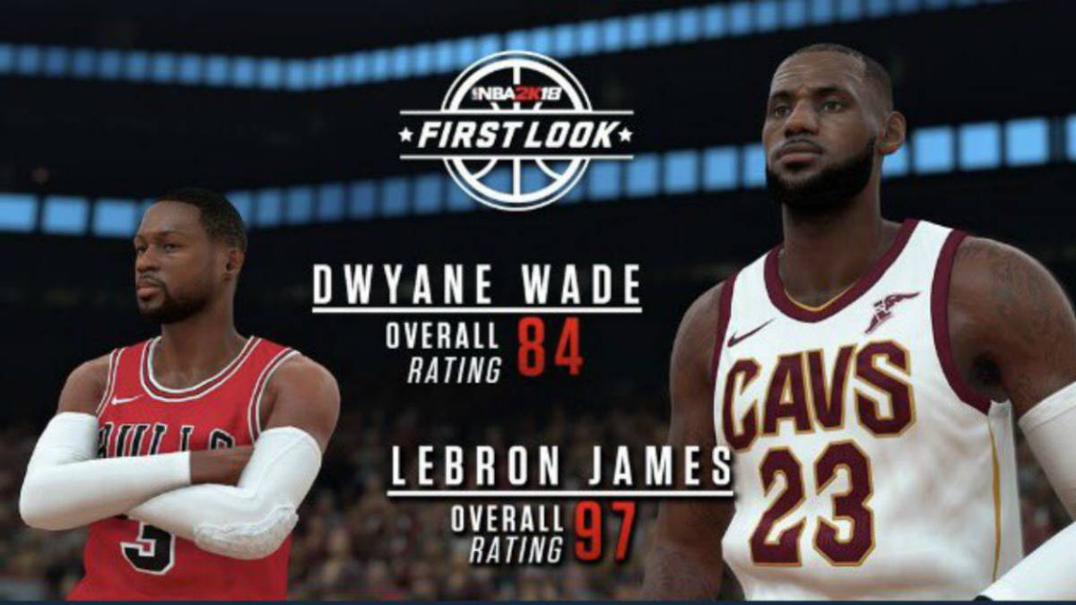 LeBron, Durant, Kawhi, Curry... Los mejores jugadores del 2K18