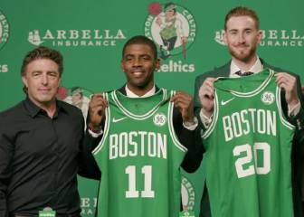 Irving, presentado en Boston: