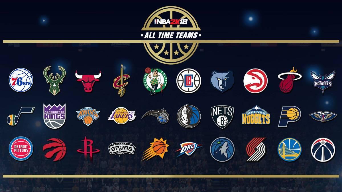 86c83a9864afe Los mejores equipos históricos de cada franquicia en el NBA 2K18 ...
