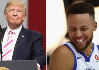 Trump se enfada con Curry y retira la invitación a los Warriors