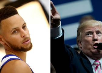 Curry aviva la polémica con Trump: