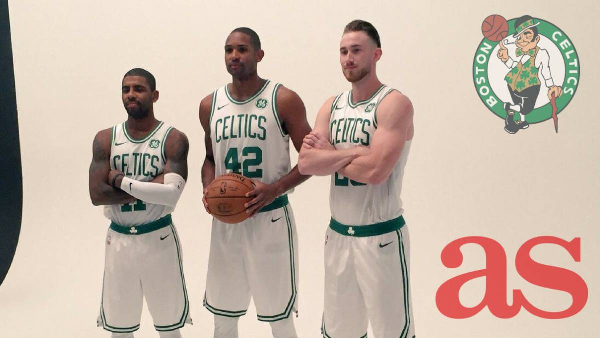 Kyrie Irving, Al Horford y Gordon Hayward, el Big Three con el que los Celtics aspiran a derrotar a LeBron James en el Este.