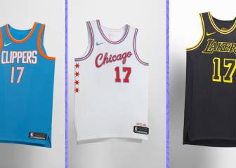 The NBA 'City Edition' jerseys