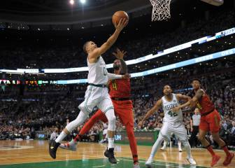 Sin Irving, Rozier (31) y Tatum (27) asumen galones en Boston