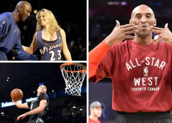 Historia de los NBA All Star: Kobe, Jordan, mates, triples...