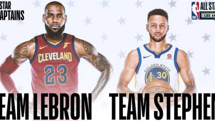 Team LeBron vs Team Curry: el primer All Star de la nueva era