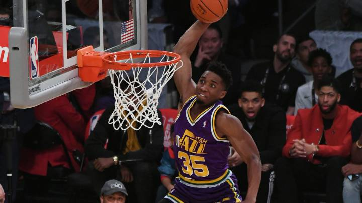 All-Star NBA 2018: resumen concurso de mates y triples